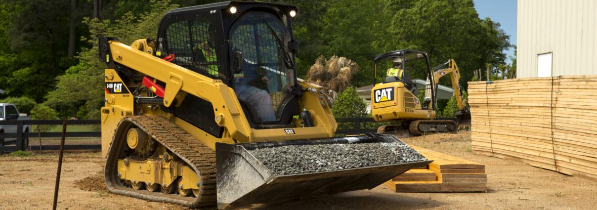 equipment for rental finning cat