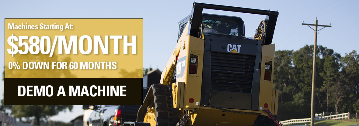 Cat Skid Steer Offer