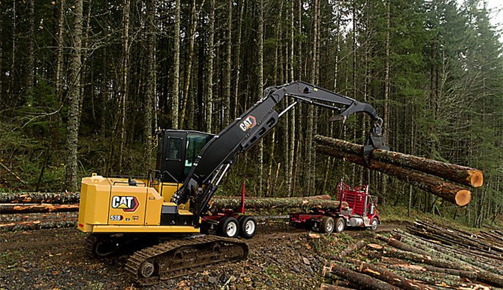 Cat® 538 - Move More Timber