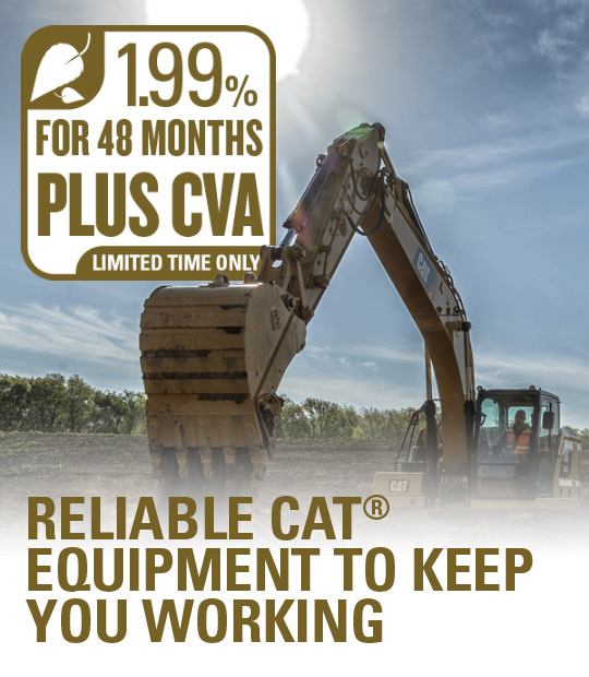 Reliable CAT Equipment To Keep You Working