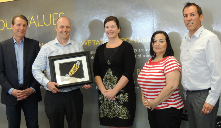 Finning Recognized For Healthy Gift