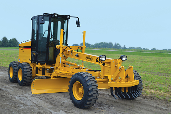 Finning Becomes Exclusive Dealer of NorAm 65E Motor Grader