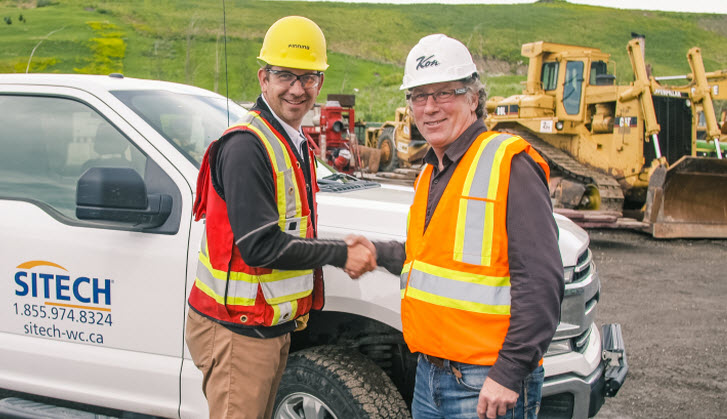 Kon Construction First In Western Canada To Put Trimble