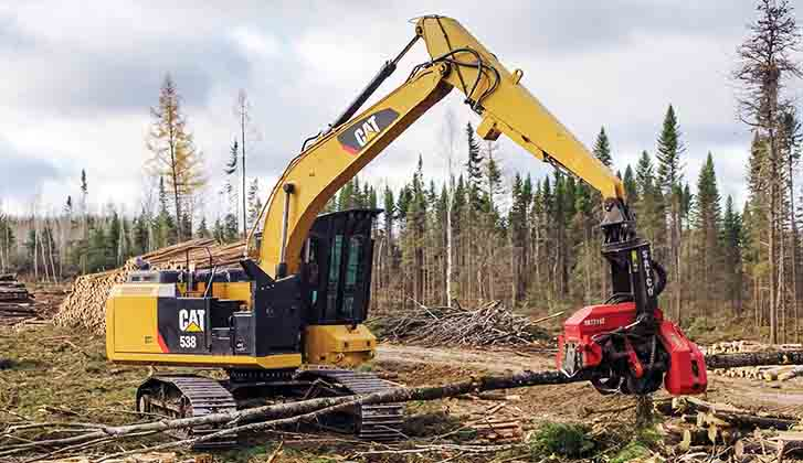 Forestry | Finning Cat
