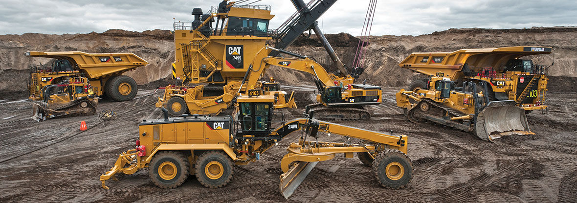 Finning Hydraulic Mining Shovel and Off Highway Truck
