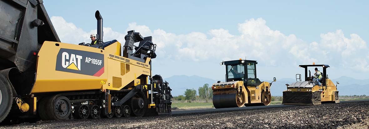 Cat Asphalt Pavers and Compactors