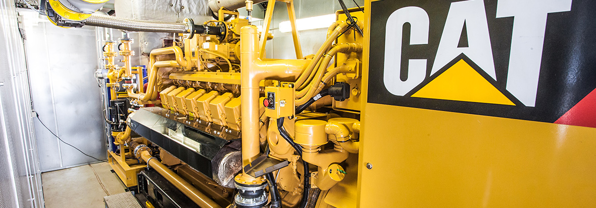 Finning Combined Heat And Power System