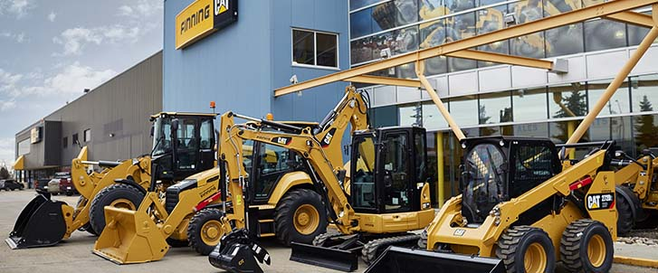 Finning Cat equipment