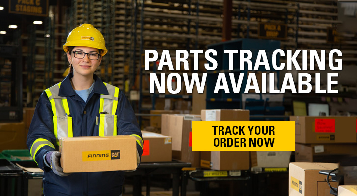 Online parts tracking now available