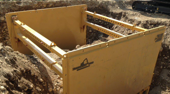 GWSS Steel Trench Boxes