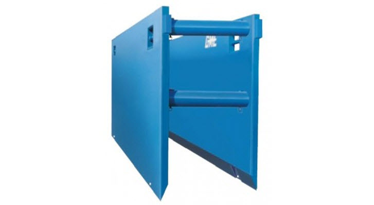 Steel Trench Box : Steel trench boxes for rent finning cat