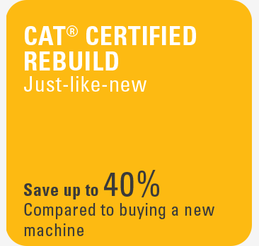 Cat Certified Rebuild - Just like new