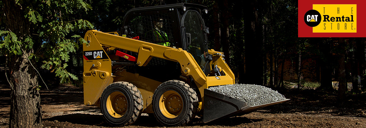 The Cat Rental Store Skid Steer