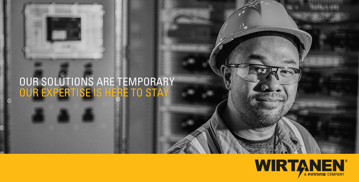 Wirtanen - Our solutions are temporary. Our expertise is here to stay.