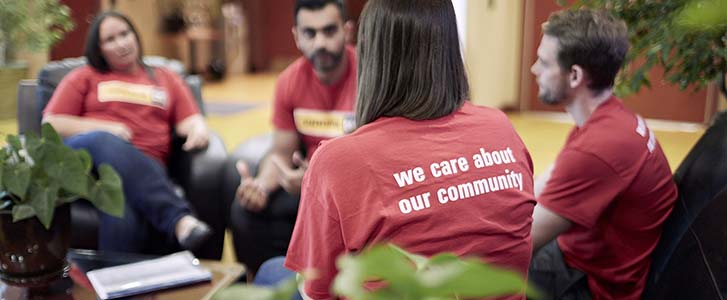 We care about our community Finning