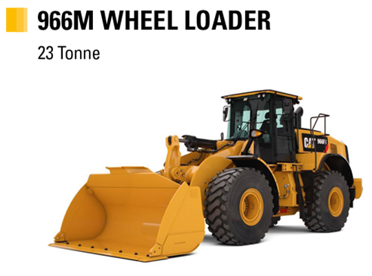 Learn more about Cat 966M Wheel Loader
