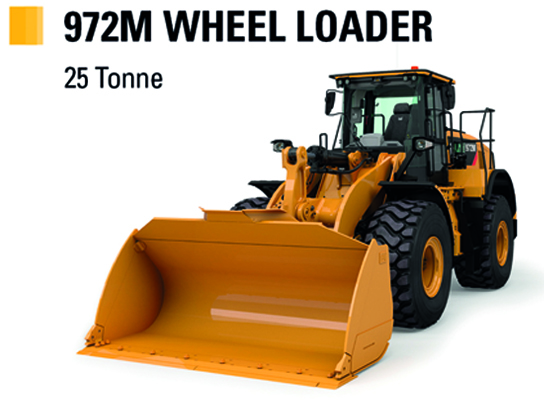 Learn more about the Cat 972M Wheel Loader