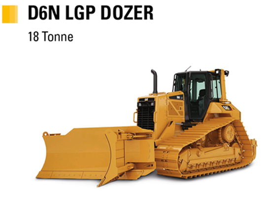 Learn more about the Cat D6N Dozer