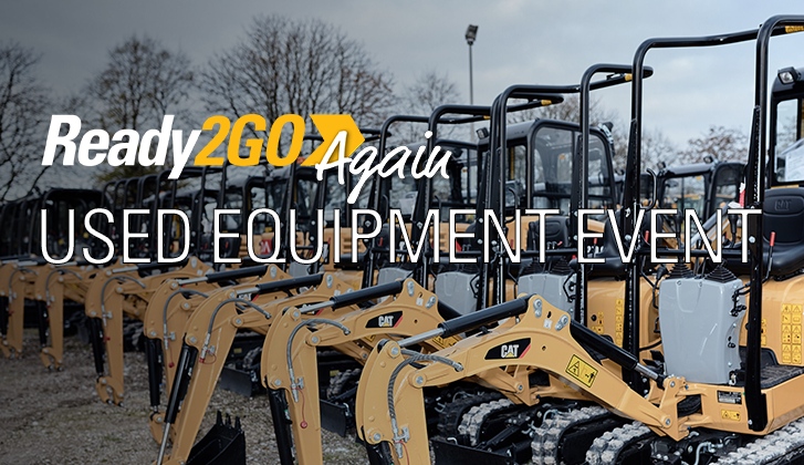 Ready2Go Again Used Equipment Event