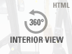 360° Interior view. Double click on the image to zoom in on any area of the product.